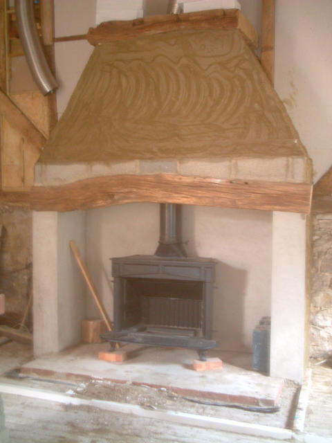 Deans wood burner hearth