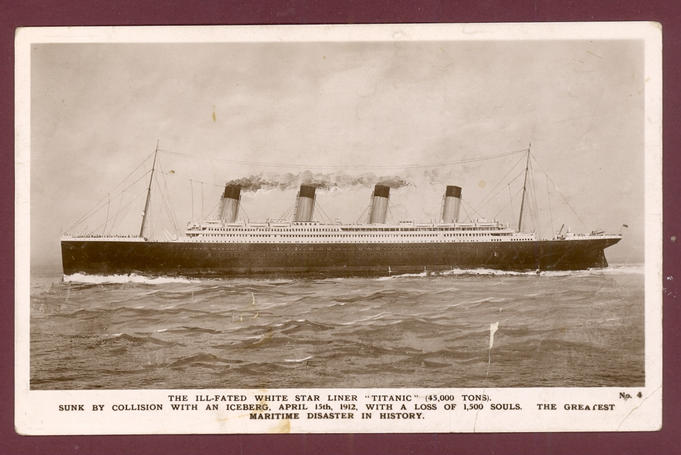 real titanic 1912