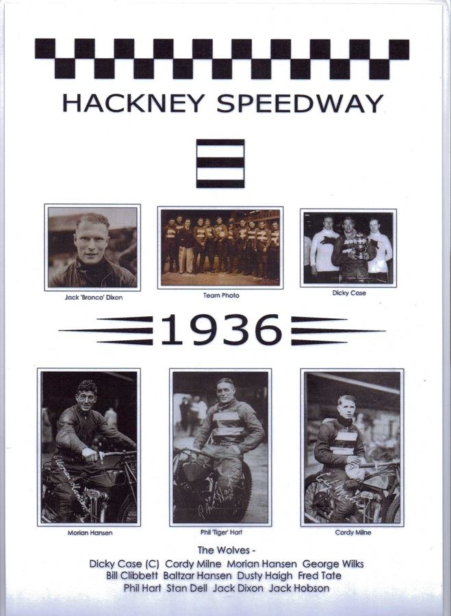 Hackney Wick Wolves 1936