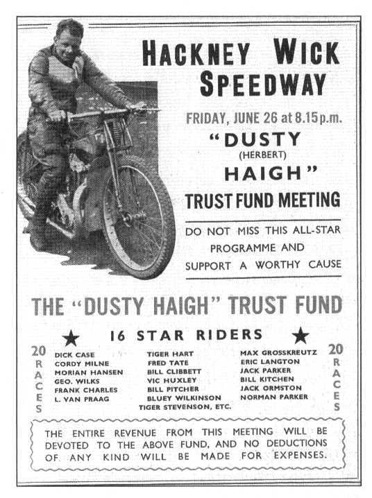 Dusty Haigh Poster
