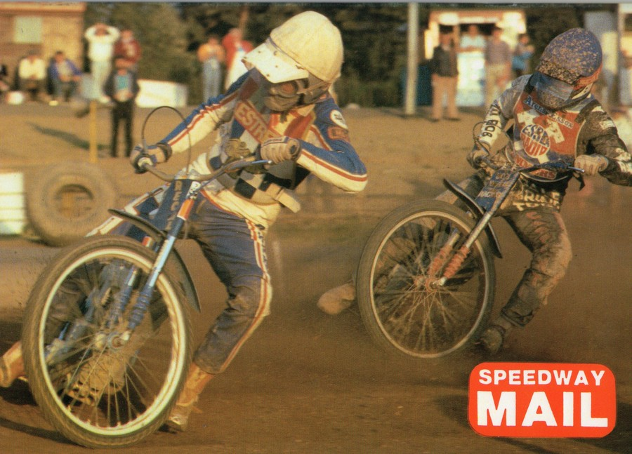 Mr Hackney Speedway, Barry Thomas