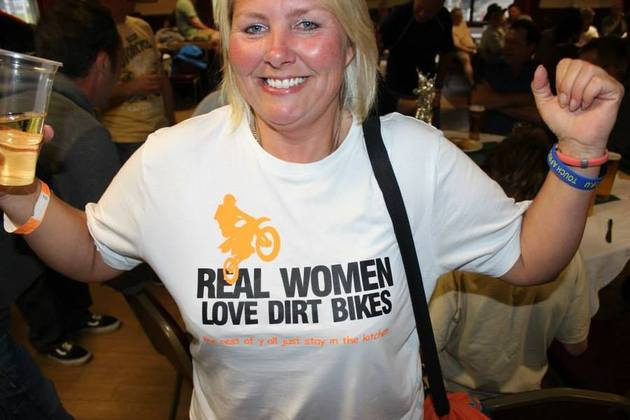 Kate Mason speedway rider