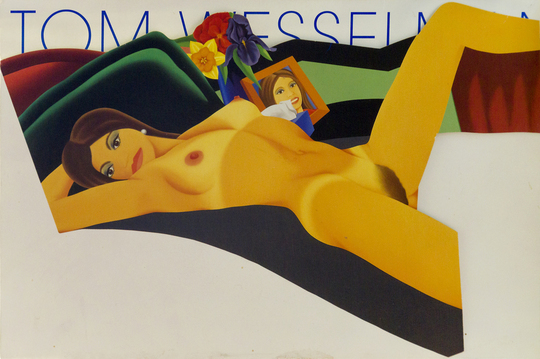 An Original TOM WESSELMANN invitation from HAMILTON'S GALLERY
