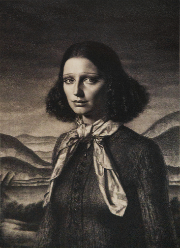 """DORETTE"" - After an Original Etching by GERALD BROCKHURST"