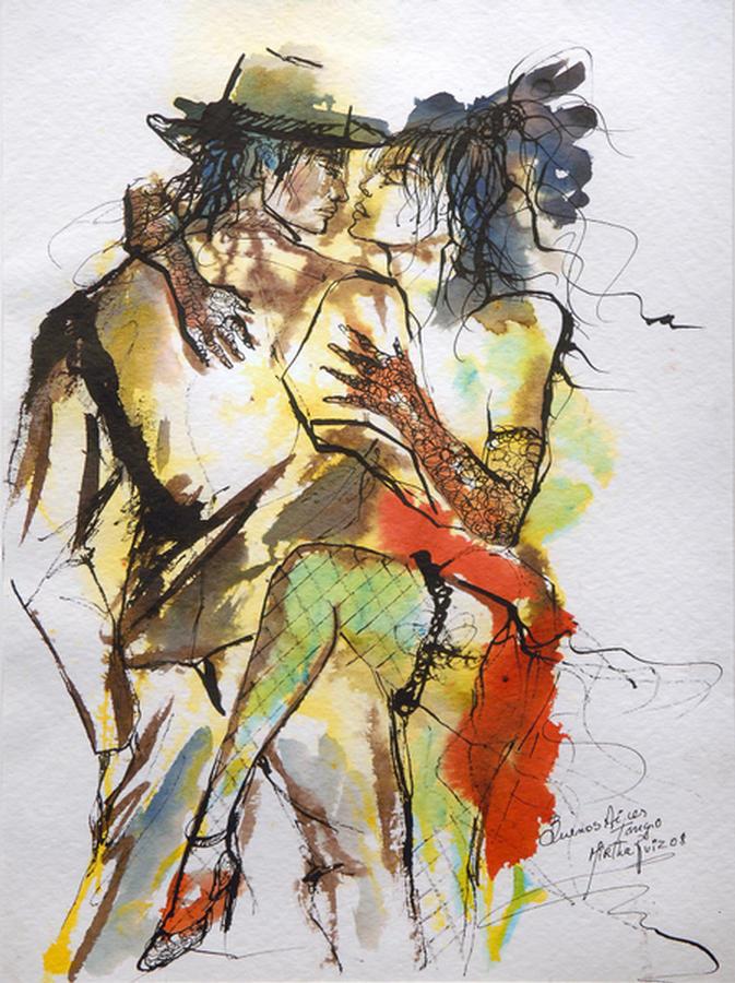 """""""Buenos Aires Tango"""" by MIRTHA ZUIZOS"""