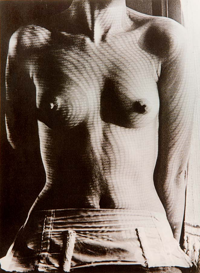 """Lee Miller Torso"" - photograph by MAN RAY"