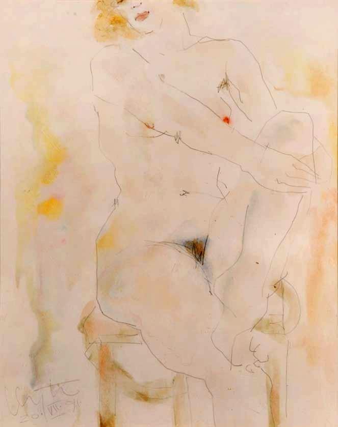 "Inge Clayton  - ""Homage to Klimt and Schiele"""