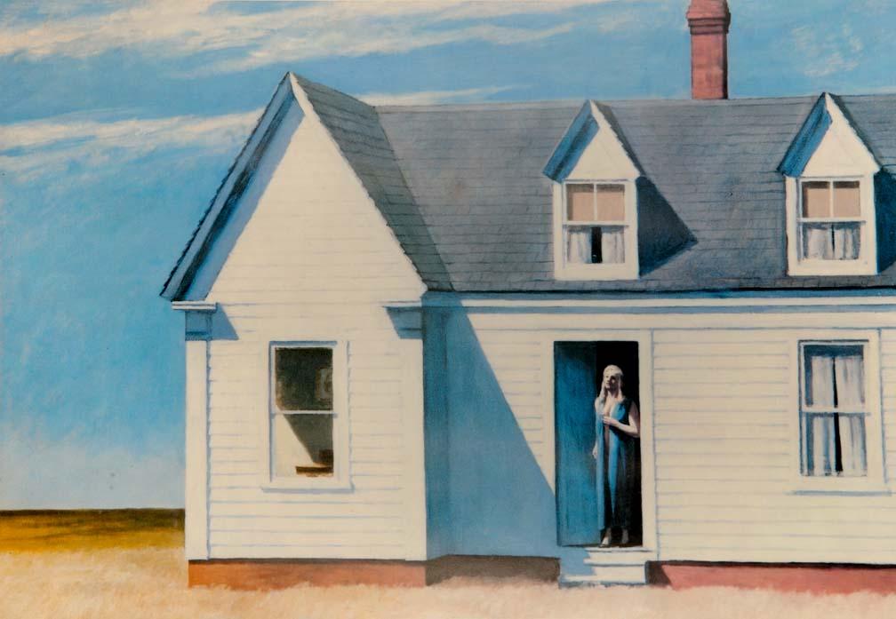 """High Noon"" - a print by Edward HOPPER"