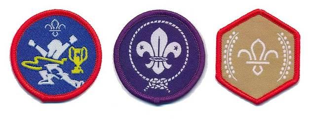 Scout badges ident
