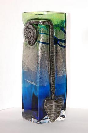 Ammonite Vase