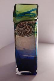 Ammonite Vase aerial view !