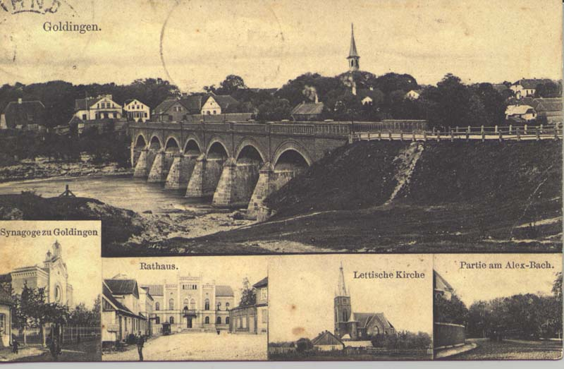 The Rumba bridge over the Venta at Goldingen