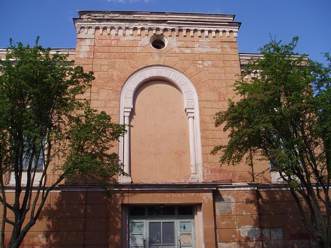 Old synagogue at Goldingen / Kuldiga
