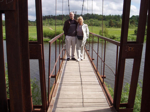 footbridge at Avaslan