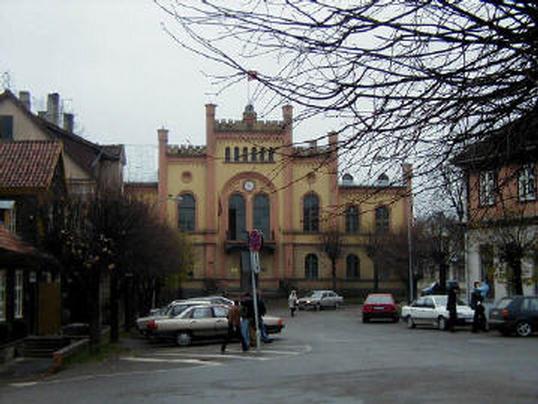 Modern day centre of Kuldiga