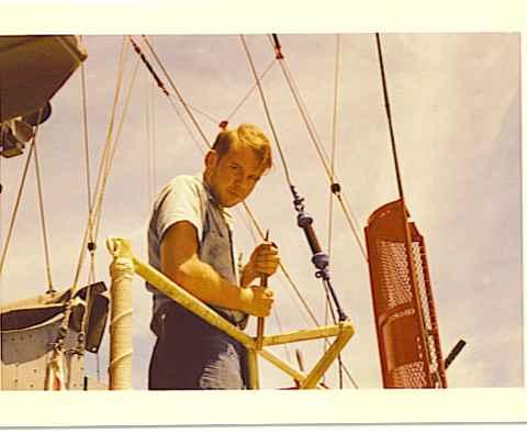 Gary Lambert, EM3  Skip Schusler, RM3  Rick Brooks, BM2,  1969