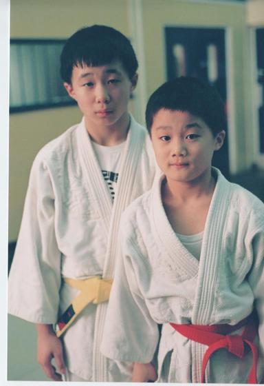Ken & Taku in November 2004