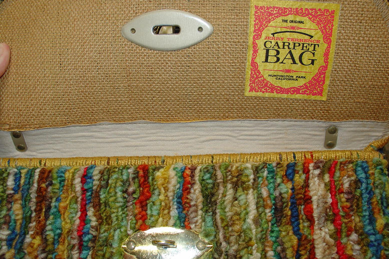 Carpet Purse inside view