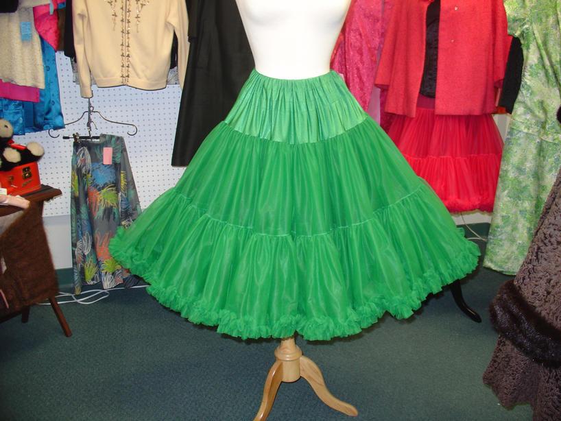 Emerald Green Crinoline