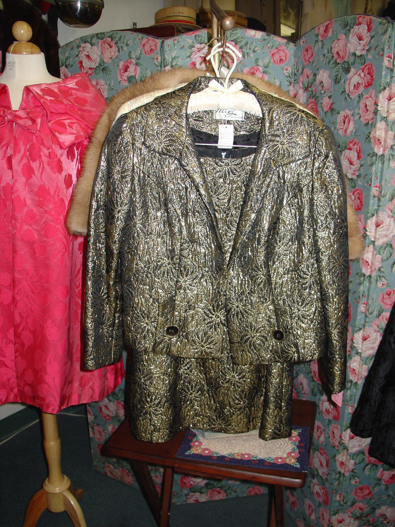 Gold Brocade suit