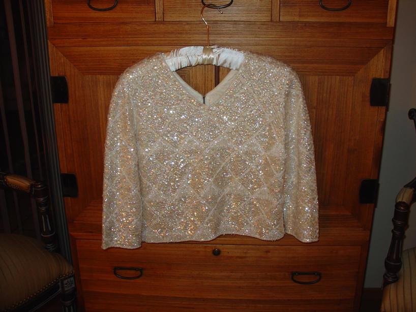 Vintage Beaded Sweaters!