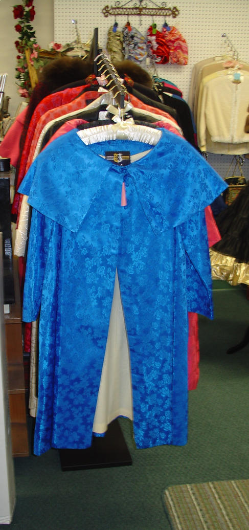 Blue Opera Coat Diva Sharon Vintage Coat