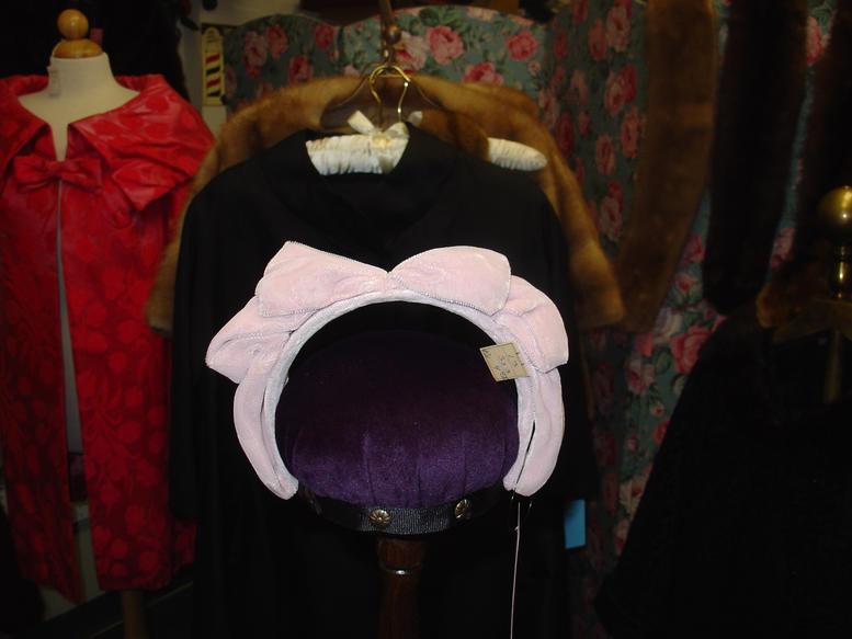 Pink Velvet Headband Hat