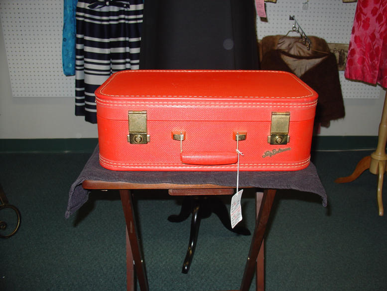 Small Red Suitcase | Luggage And Suitcases