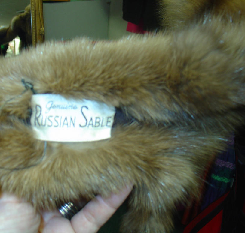 Russian Sable Label