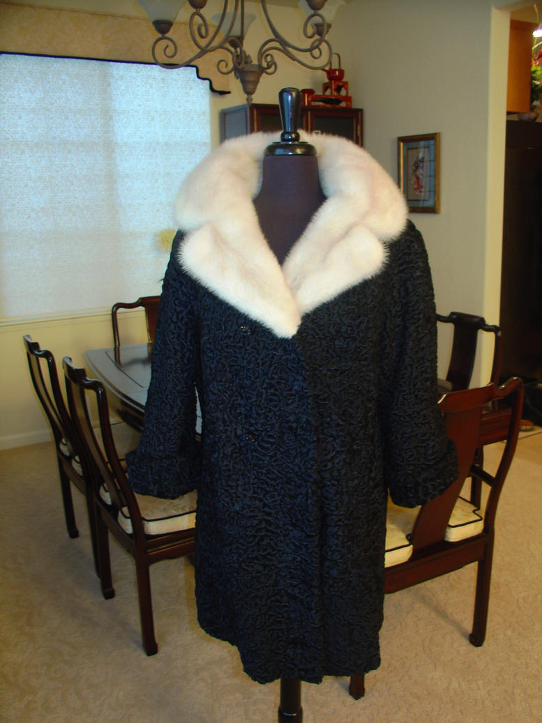 Schiaparelli Persian Lamb Coat