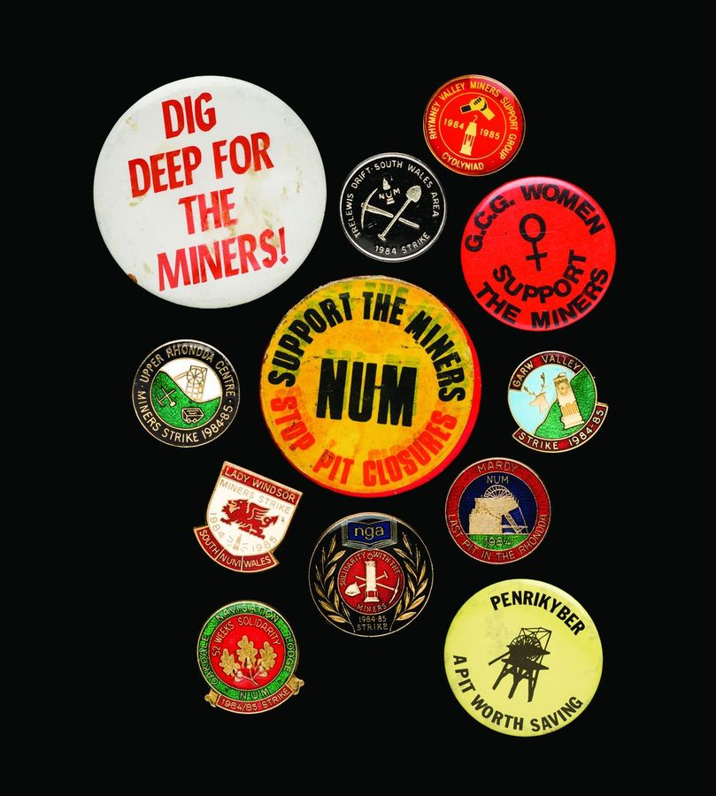 The Miners' Strike mementos of love
