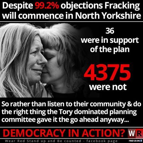 fracking tory councillors