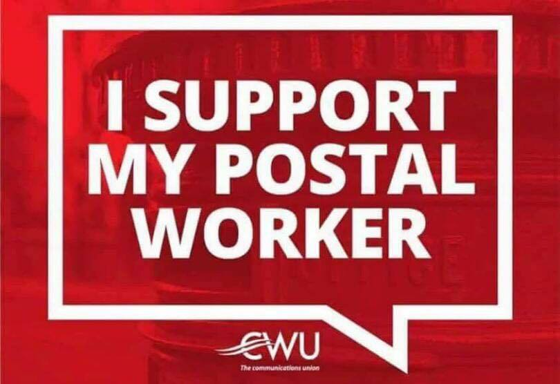 I support my postal worker