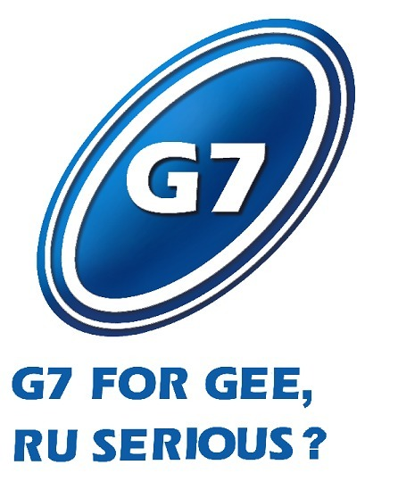 G7 for gee, are you serious?