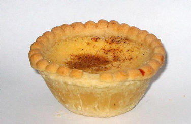 prize winning custard tarts recipe from Wales