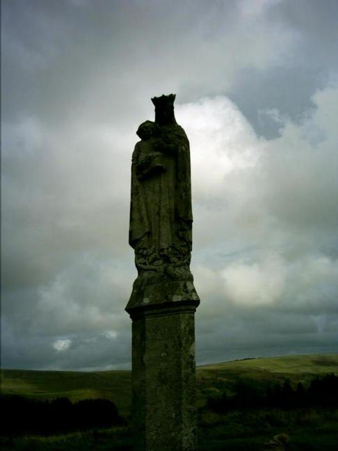 St Mary's statue, Penrhys, Rhondda