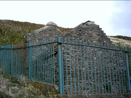 Little church, Penrhys,  Rhondda, from the back