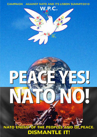 Get out of NATO stop WW3