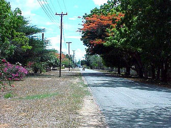 View along Bofa Beach Road