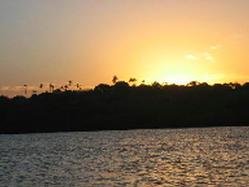 Sunset over Kilifi
