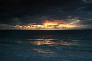 Daybreak over Bofa Beach