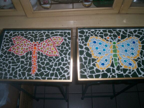 Dragonfly & Butterfly