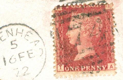 Misplaed corner letters