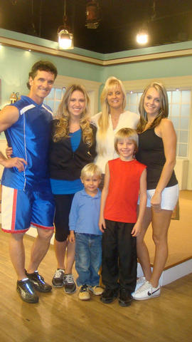 TIM AND FAMILY WITH JANELL WHEELER