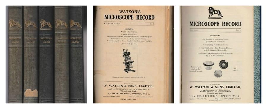 Watson's Microscope Record.