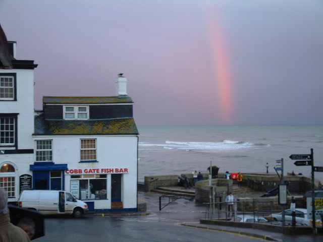 Rianbow over Portland Bill