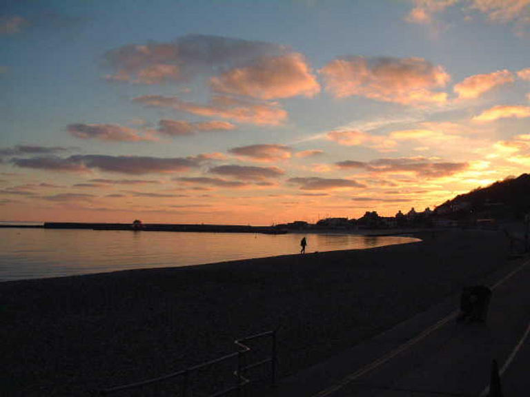 Lyme Regis by Twilight