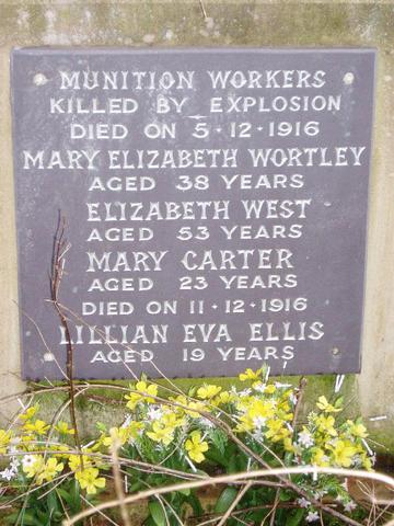 York Munitions Workers Memorial