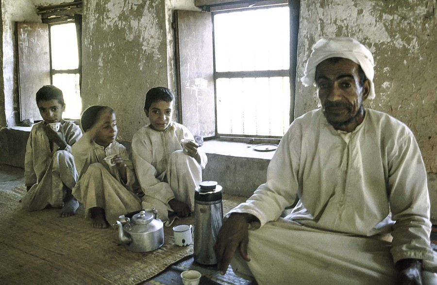 Villager in Nizwa, Oman, who asked me in for tea
