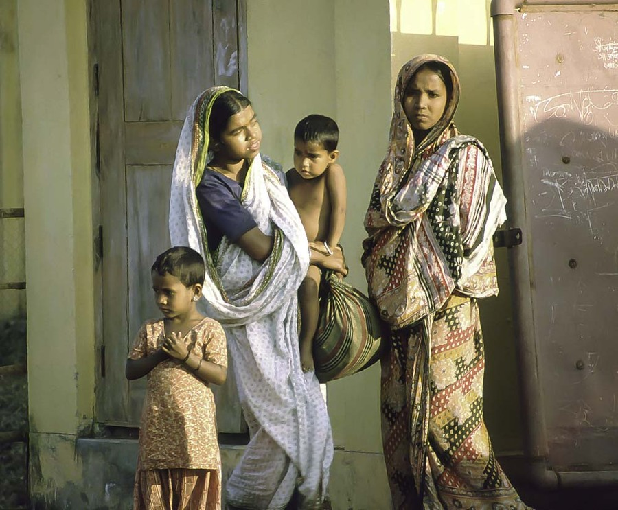Family in Bangladesh